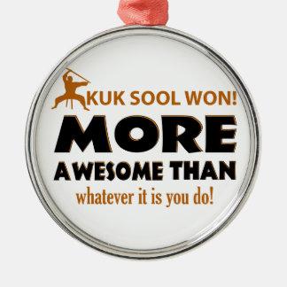 KUK SOOL WON designs Silver-Colored Round Decoration