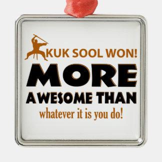 KUK SOOL WON designs Silver-Colored Square Decoration