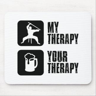 Kuk-Sool-Won my therapy Mousepads