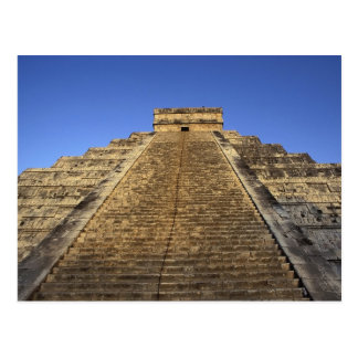 Kukulcan Temple or Castillo Castle in 2 Post Cards