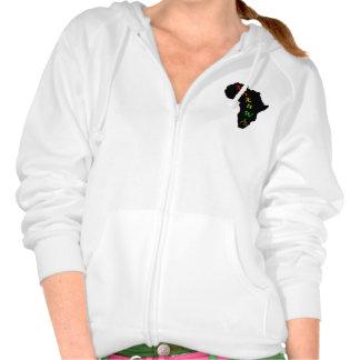 Kukuwa®Women's Fleece Raglan Zip Hoodie