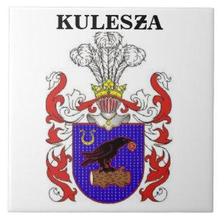 KULESZA FAMILY CREST LARGE SQUARE TILE