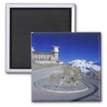 Kulm hotel and trail, Gornergrat, Zermatt,