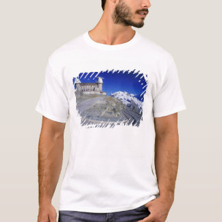 Kulm hotel and trail, Gornergrat, Zermatt, T-Shirt