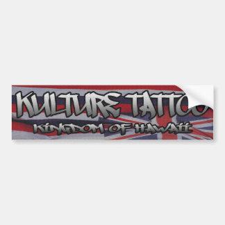 Kulture Tatto Bumper Sticker