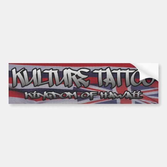 Kulture Tatto Bumper Sticker