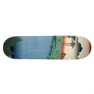Kumanojūnisha Shrine. 21.6 Cm Old School Skateboard Deck