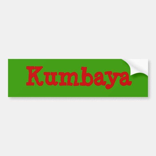 Kumbaya Bumper Sticker