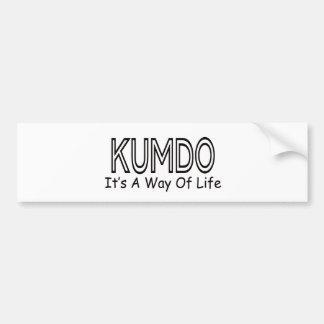 Kumdo It s A Way Of Life Bumper Stickers