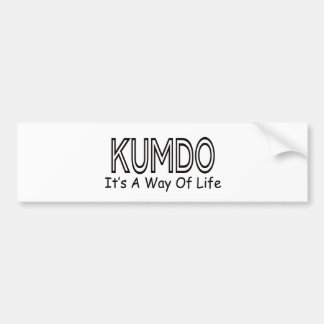 Kumdo It's A Way Of Life Bumper Stickers