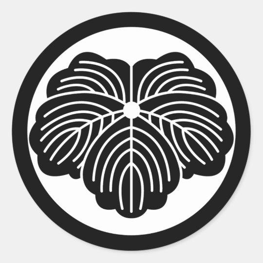 kumon classic round sticker