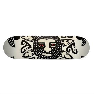 Kuna Indian Sun Universe Skateboard