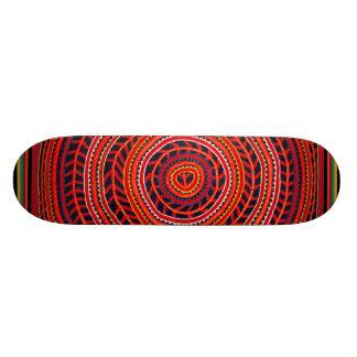 Kuna Indian Sun Universe Skateboard - Del Sol
