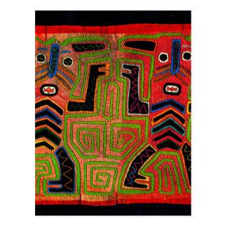 Kuna Indian Twin Spirits Postcard