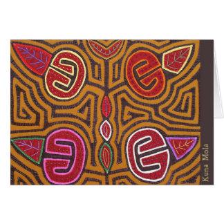 Kuna Mola- Pomegranate Greeting Card