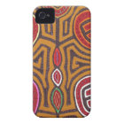 Kuna Mola- Pomegranate iPhone 4 Cover