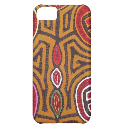 Kuna Mola- Pomegranate iPhone 5C Case