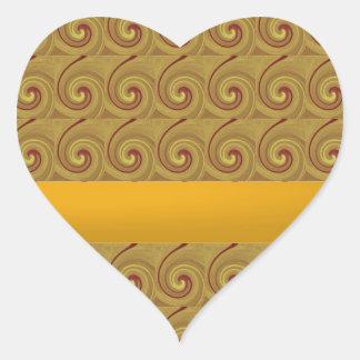 Kundalini Awakening Chakra Movement Heart Sticker