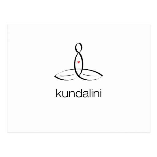 Kundalini - Black Regular style Post Card