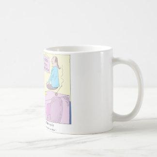 Kundalini Inc. Yoga Cartoon Gifts & Collectibles Basic White Mug