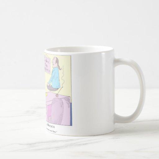 Kundalini Inc. Yoga Cartoon Gifts & Collectibles Mug