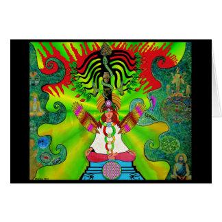 Kundalini Rising and the Tree of 12 Fruits Card