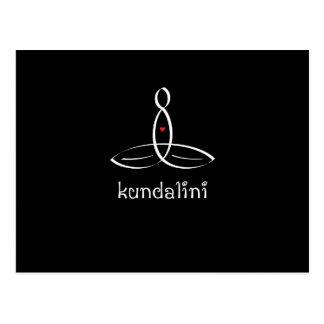 Kundalini - White Fancy style Post Card