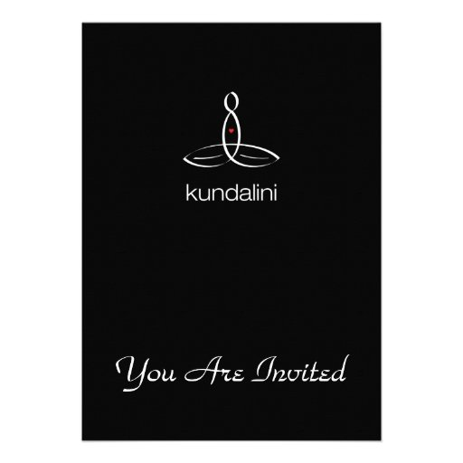 Kundalini - White Regular style Announcements