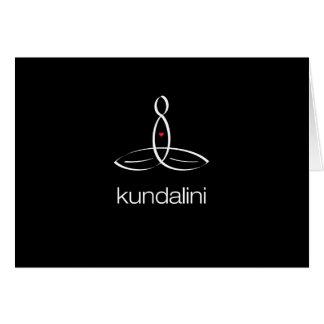 Kundalini - White Regular style Note Card