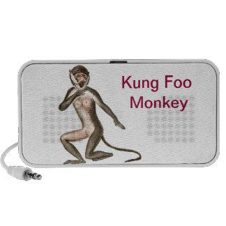 Kung Foo Monkey iPod Speakers