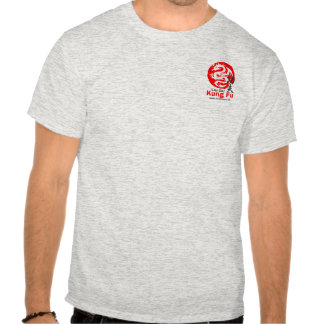 Kung Fu (Ash Grey) Tshirts