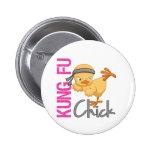 Kung Fu Chick Badge