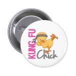 Kung Fu Chick Button