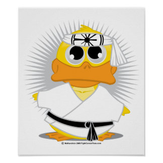 Kung Fu Duck Posters