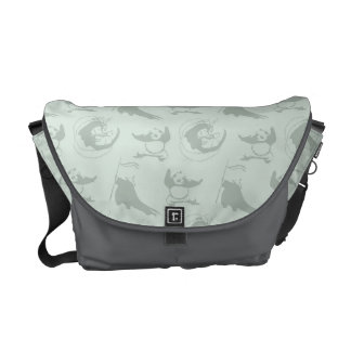 Kung Fu Panda Pattern Courier Bag