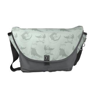 Kung Fu Panda Pattern Messenger Bag