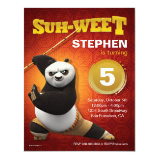 Kung Fu Panda | Po Warrior Birthday Card
