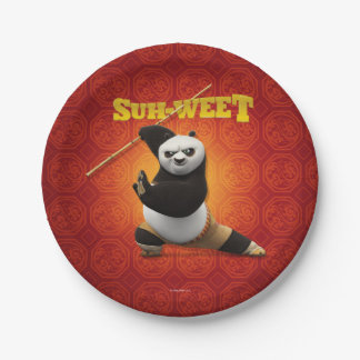 Kung Fu Panda | Po Warrior Birthday Paper Plate