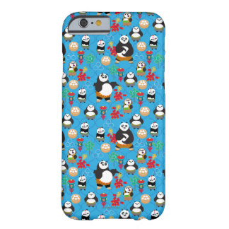 Kung Fu Pandas Blue Pattern Barely There iPhone 6 Case