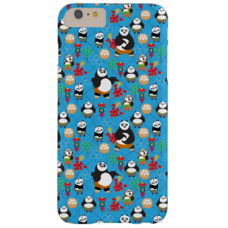 Kung Fu Pandas Blue Pattern Barely There iPhone 6 Plus Case