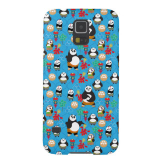 Kung Fu Pandas Blue Pattern Case For Galaxy S5