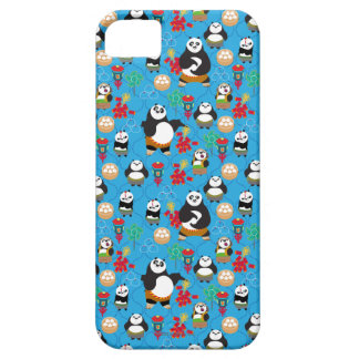 Kung Fu Pandas Blue Pattern Case For The iPhone 5