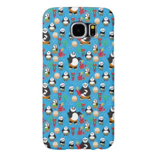 Kung Fu Pandas Blue Pattern Samsung Galaxy S6 Cases
