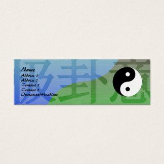 Kung Fu Profile Card