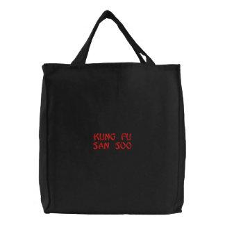 Kung Fu San Soo Embroidered Tote Bag