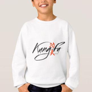 Kung Fu  - Script Design Sweatshirt