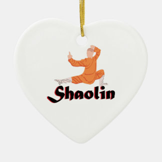 Kung Fu Shaolin Christmas Ornament