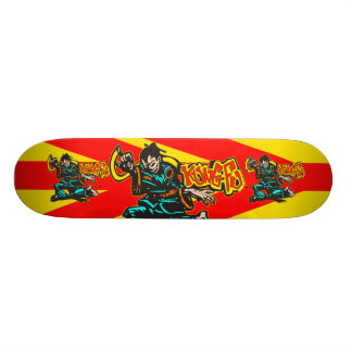 Kung Fu Custom Skateboard