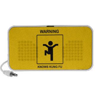 Kung Fu iPhone Speaker