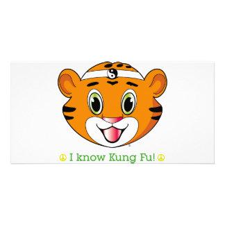 Kung Fu Tiger™ Photo Card